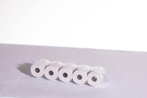 Thermo- Bonrollen für Washtec 57mm x 8m x 12mm