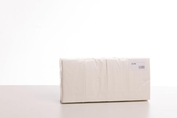 Servietten 2-lagig Zellstoff hochweiß, 33 x 33 cm, 1/8 Falz