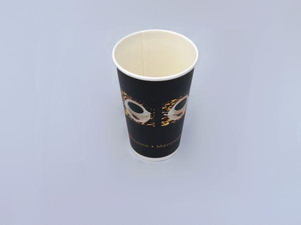 Coffee to Go Becher einwandig 400 ml (16oz)