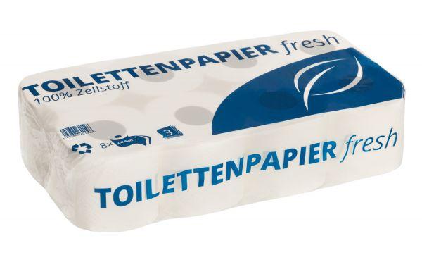 Toilettenpapier 2-lagig 250 Blatt_64 Rollen