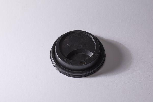 11804_Kunststoff-Deckel 90mm für Coffee to Go Becher_12 + 16oz_schwarz