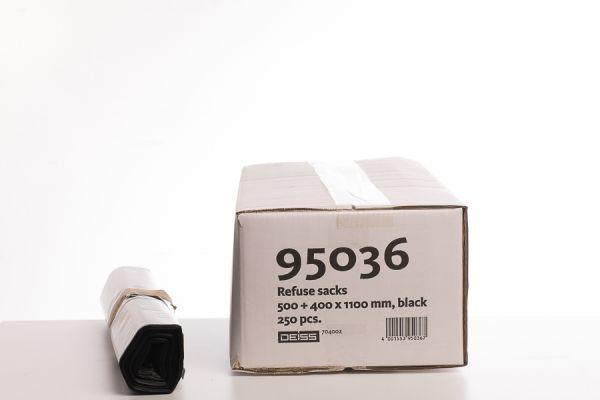 95036_Abfallsäcke 170 Liter schwarz_500 + 400 x 1100mm_10 Rollen