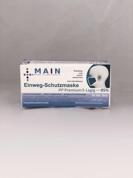 Mundschutz 3-lagig, verfügbar